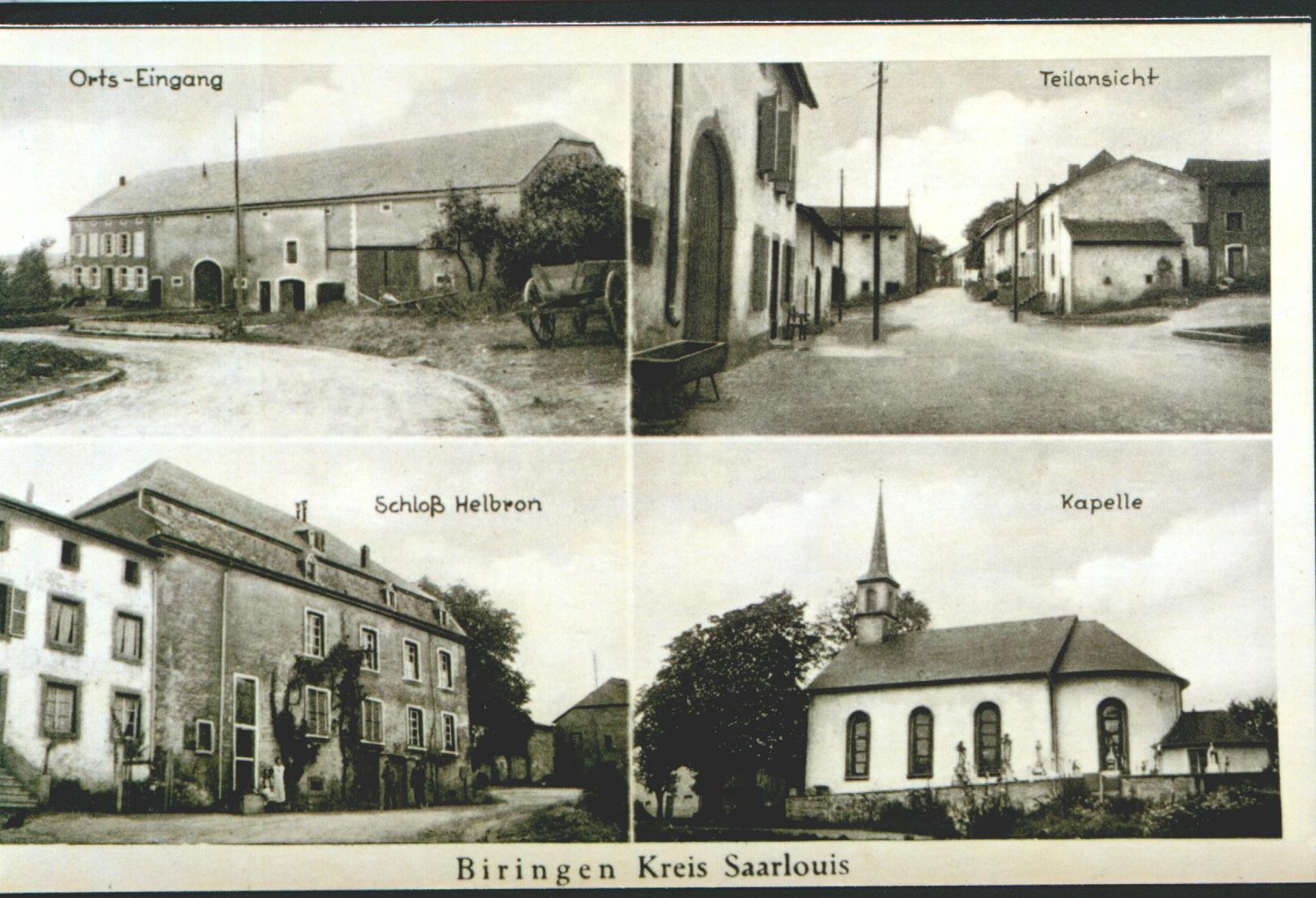 Alte Postkarte um 1950